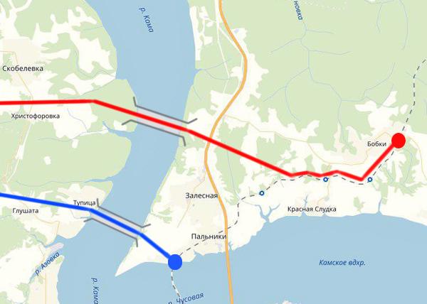 Северный железнодорожный обход в Перми, карта(2018) Фото: Накануне.RU