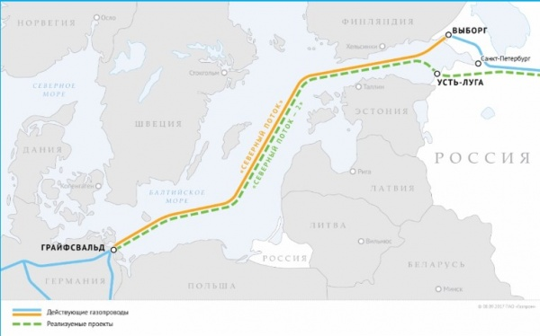 Северный поток — 2, Газпром(2018) Фото: www.gazprom.ru