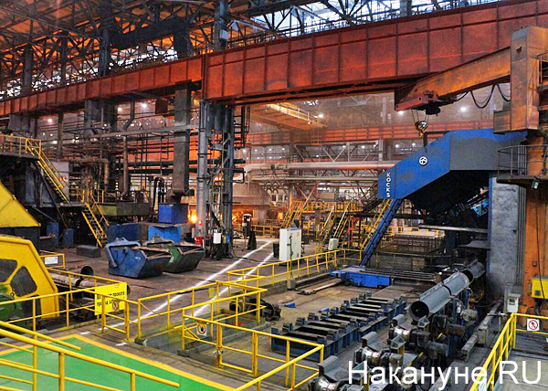 Северский трубный завод, трубопрокатный цех №1, металлургия(2018)|Фото: Накануне.RU