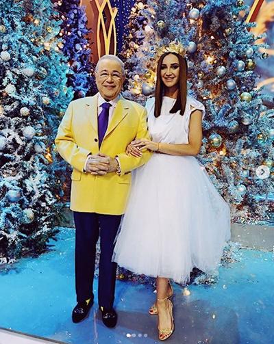 Евгений Петросян Ольга Бузова(2018)|Фото:instagram.com/petrosyanevgeny