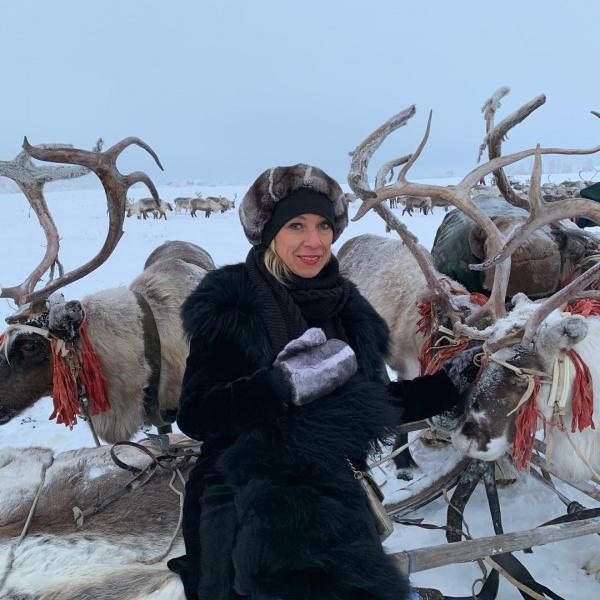 Мария Захарова на Ямале циркумполярный конгресс СМИ(2018)|Фото: instagram.com, Мария Захарова