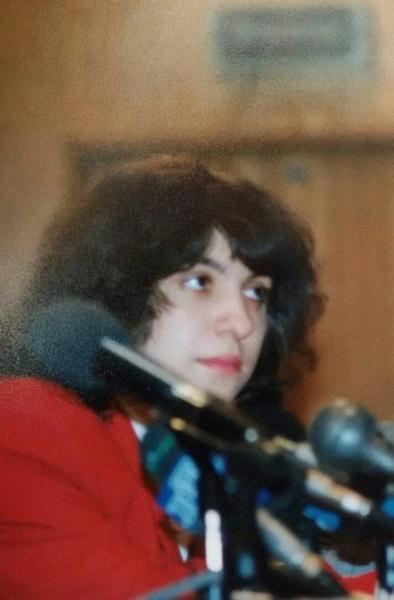 Дарья Митина. 1995(2018)|Фото: Личный архив Дарьи Митиной