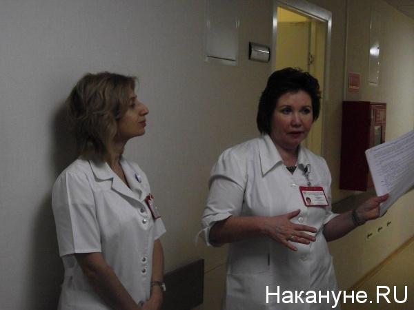 Главный врач Сургутского кардиодиспансера Ирина Урванцева(2018)|Фото: Накануне.RU