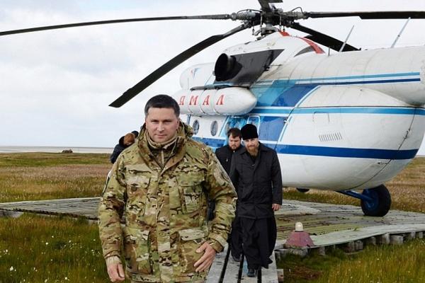 Дмитрий Кобылкин, остров Белый(2018)|Фото: правительство.янао.рф