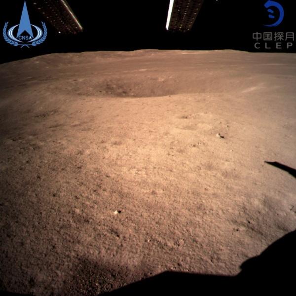 Луна, фото,обратная сторона Луны(2019)|Фото:AP Photo / Xinhua News Agency/China National Space Administration