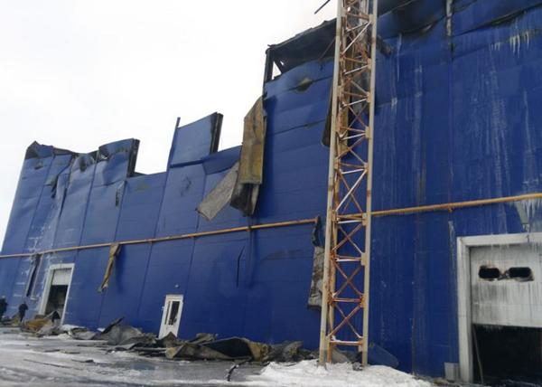 пожар на Оренбургском заводе промышленного цинкования(2019) Фото: oren.sledcom.ru