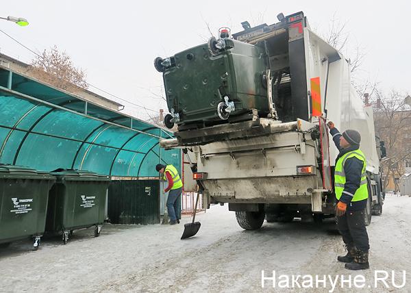 мусор, уборка мусора, баки(2019)|Фото: Накануне.RU