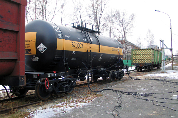 вагон-цистерна 15-5200, Уралвагонзавод(2019)|Фото: uralvagonzavod.ru