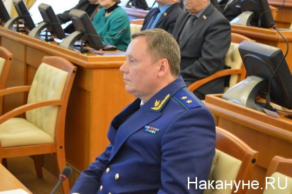 Андрей Назаров, прокурор Курганской области(2019)|Фото: Накануне.RU