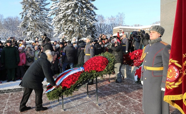 Владимир Путин, блокада, годовщина, Ленинград(2019)|Фото:kremlin.ru