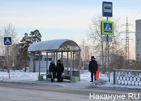 автобусная остановка(2019)|Фото: Накануне.RU