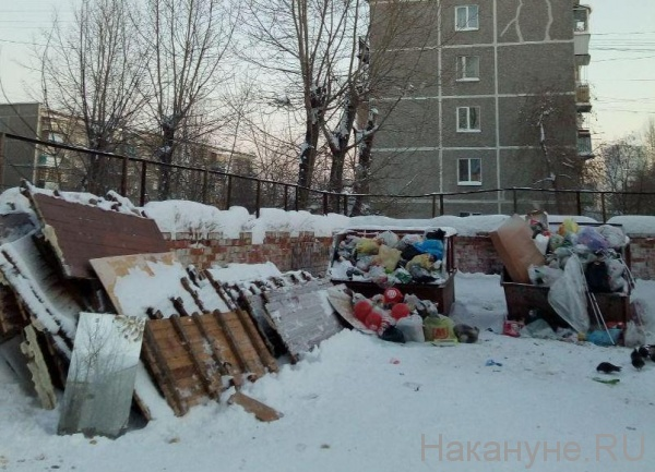 помойка, мусор, ТБО, отходы, Екатеринбург(2019) Фото: Накануне.RU