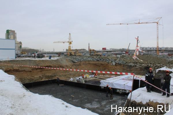 конгресс-холл, общественно-деловой центр, Челябинск, строительство,(2019)|Фото: Накануне.RU