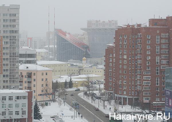Екатеринбург-Арена, трибуны(2019)|Фото: Накануне.RU