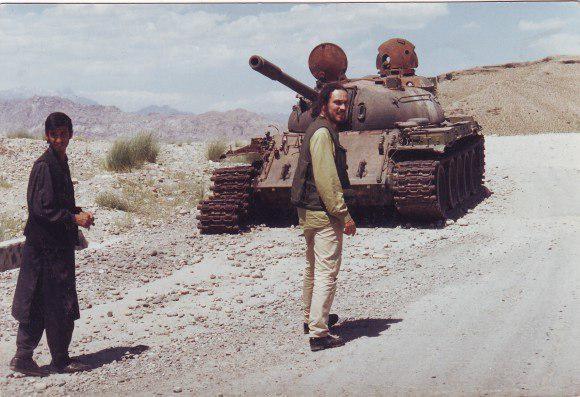 в Афганистане, под Джелалабадом, 1997 год(2019)|Фото: Личный архив Максима Шевченко