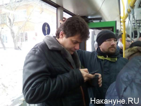 Александр Высокинский, рейд по уборке снега(2019) Фото: Накануне.RU