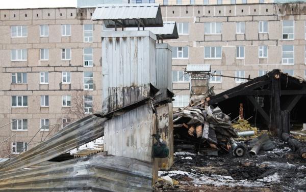 пожар, Чапаева 49, Нижневартовск(2019)|Фото: Мэрия Нижневартовска