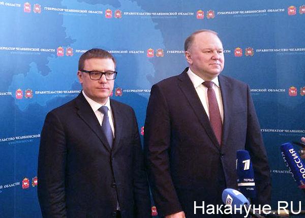 Алексей Текслер, врио губернатора Челябинской области, Николай Цуканов(2019)|Фото: Накануне.RU