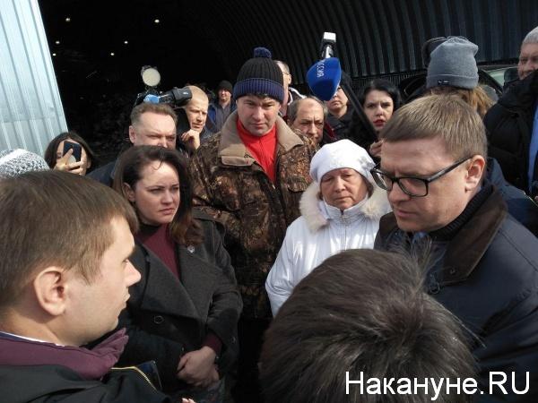 полигон ТБО, Полетаево, Алексей Текслер(2019)|Фото:Накануне.RU
