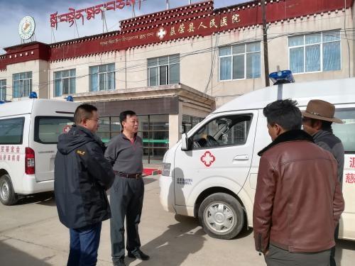 Машина скорой помощи в тибетских районах Китая(2019)|Фото: tupian.baidu.com