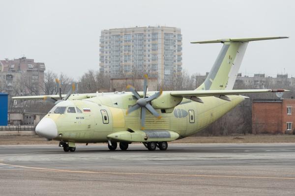 Ил-112В, самолет, воронеж, ПАО «ВАСО»(2019)|Фото:пресс-служба правительства Воронежской области