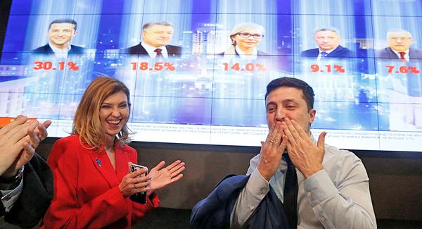 Владимир Зеленский, выборы президента Украины 2019(2019)|Фото: REUTERS / Valentyn Ogirenko