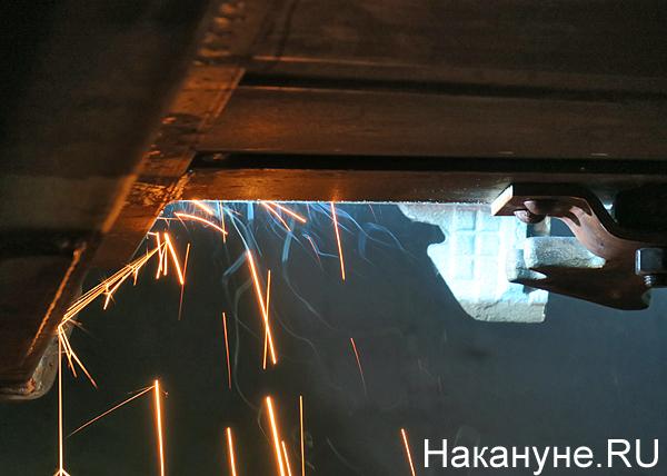 промышленное производство, промпроизводство, завод, Уралвагонзавод, искры, производство вагонов(2019)|Фото: Накануне.RU