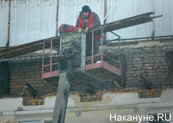 ремонт фасада, Челябинск(2019)|Фото: Накануне.RU