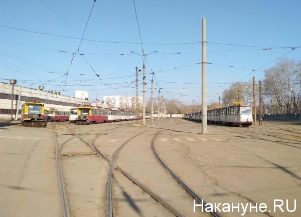 депо, трамваи, ЧелябГЭТ(2019)|Фото: Накануне.RU