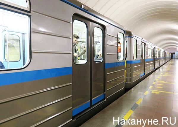 Новые вагоны екатеринбургского метрополитена(2019)|Фото: Накануне.RU