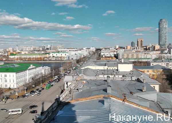 Екатеринбург, улица Ленина, Е100(2019) Фото: Накануне.RU