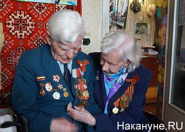 Виктор Иванович Корзунин, Аида Ивановна Намятова, ветераны(2019)|Фото: Накануне.RU