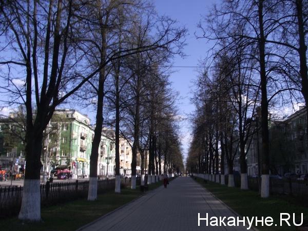 Пермь Комсомольский проспект(2019) Фото: Накануне.RU