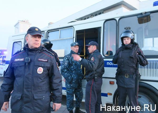полиция, полицейские, митинг, протест(2019)|Фото: Фото: Накануне.RU