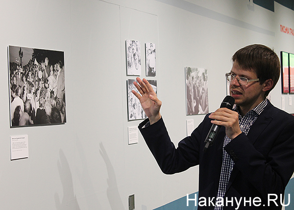 """Ельцин-центр, выставка """"Революция в прямом эфире"""", Евгений Емельянов(2019) Фото: Накануне.RU"""