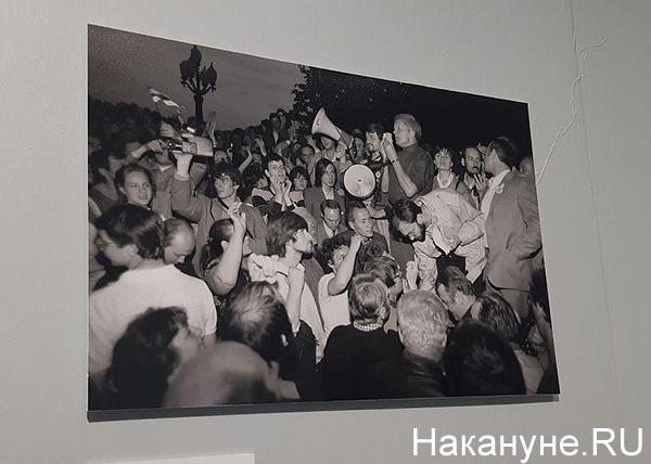 """Ельцин-центр, выставка """"Революция в прямом эфире"""" (2019) Фото: Накануне.RU"""