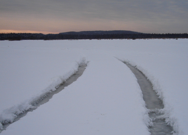 лед переправа след|Фото: гу мчс пермского края