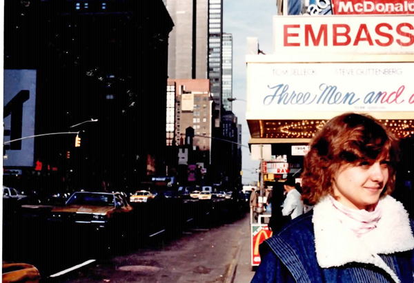Елена Вавилова, Нью-Йорк(2019)|Фото: архив Елены Вавиловой