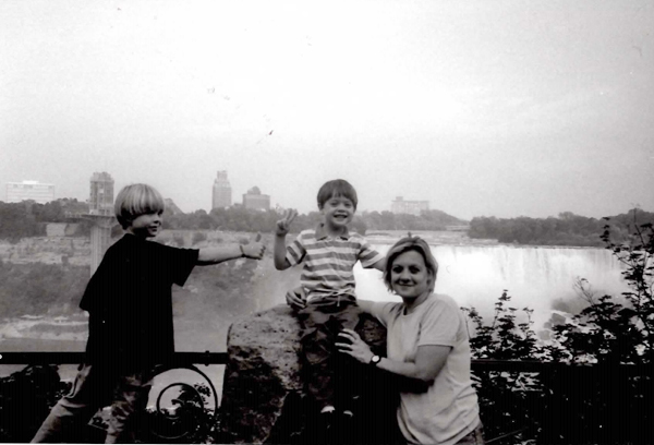 Елена Вавилова, дети - Тим и Алекс, Канада(2019)|Фото: архив Елены Вавиловой