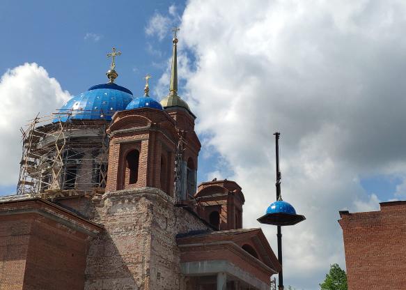 Успенский собор, ВИЗ(2019)|Фото: ekaterinburg-eparhia.ru