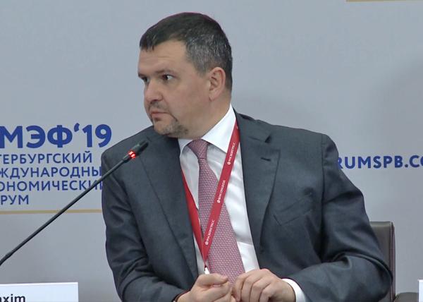 ПМЭФ-2019, Максим Акимов(2019) Фото: forumspb.com
