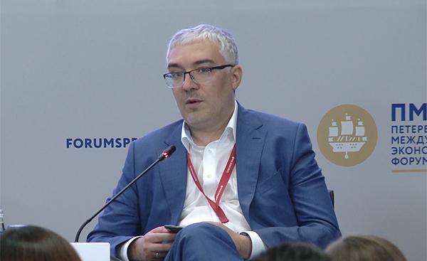 Дмитрий Песков, ПМЭФ-2019(2019) Фото: forumspb.com