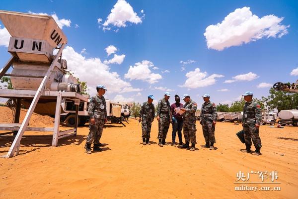 Китайские миротворцы в суданском Дарфуре(2019) Фото: military.cnr.cn