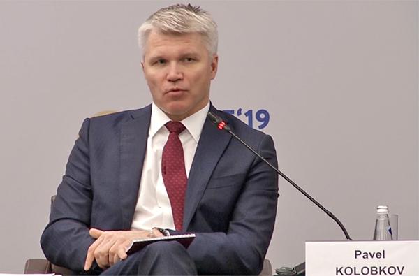 Павел Колобков, ПМЭФ-2019(2019) Фото: forumspb.com