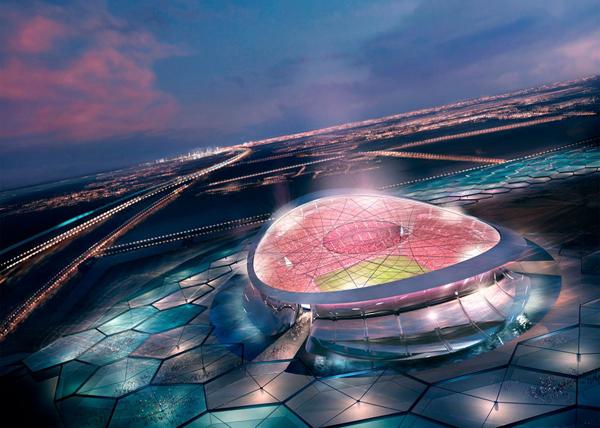 "проект стадиона ""Лусаил"" в Катаре (ЧМ-2022)(2019) Фото: Foster+Partners"