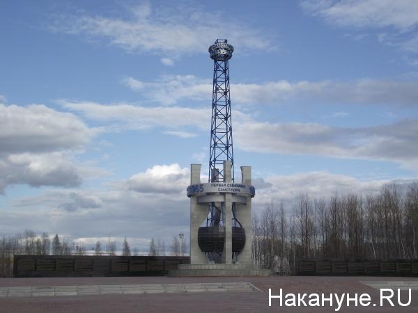 Стела первой нефти Самотлорское месторождение(2019)|Фото: Накануне.RU