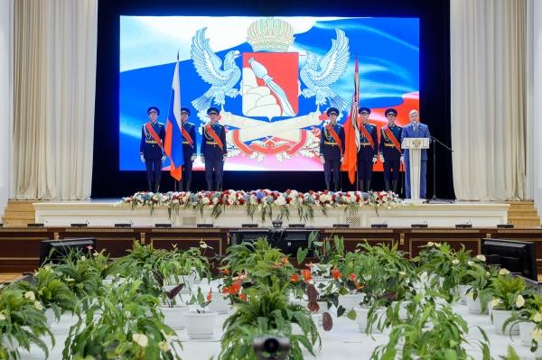 торжественная церемония, знамена, воронежская область(2019) Фото:пресс-служба правительства Воронежской области