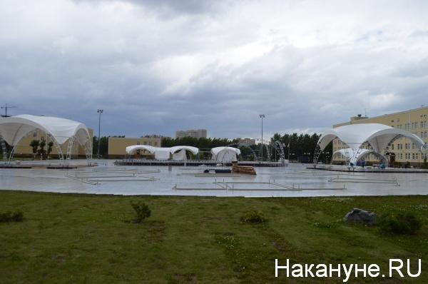 площадка, форум УТРО-2019, шатры(2019) Фото:Накануне.RU