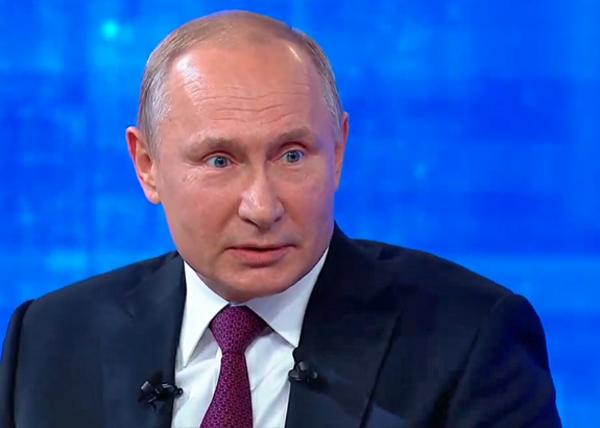 Владимир Путин, Прямая линия(2019)|Фото: youtube.com