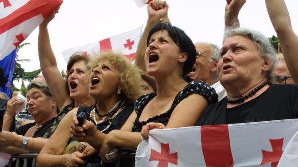 митинг, Грузия(2019)|Фото:globallookpress.com